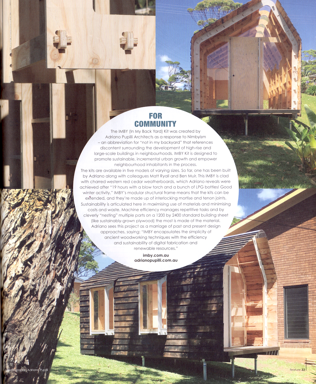 """""""Imby Kit"""" featured in Green Magazine Issue 62"""