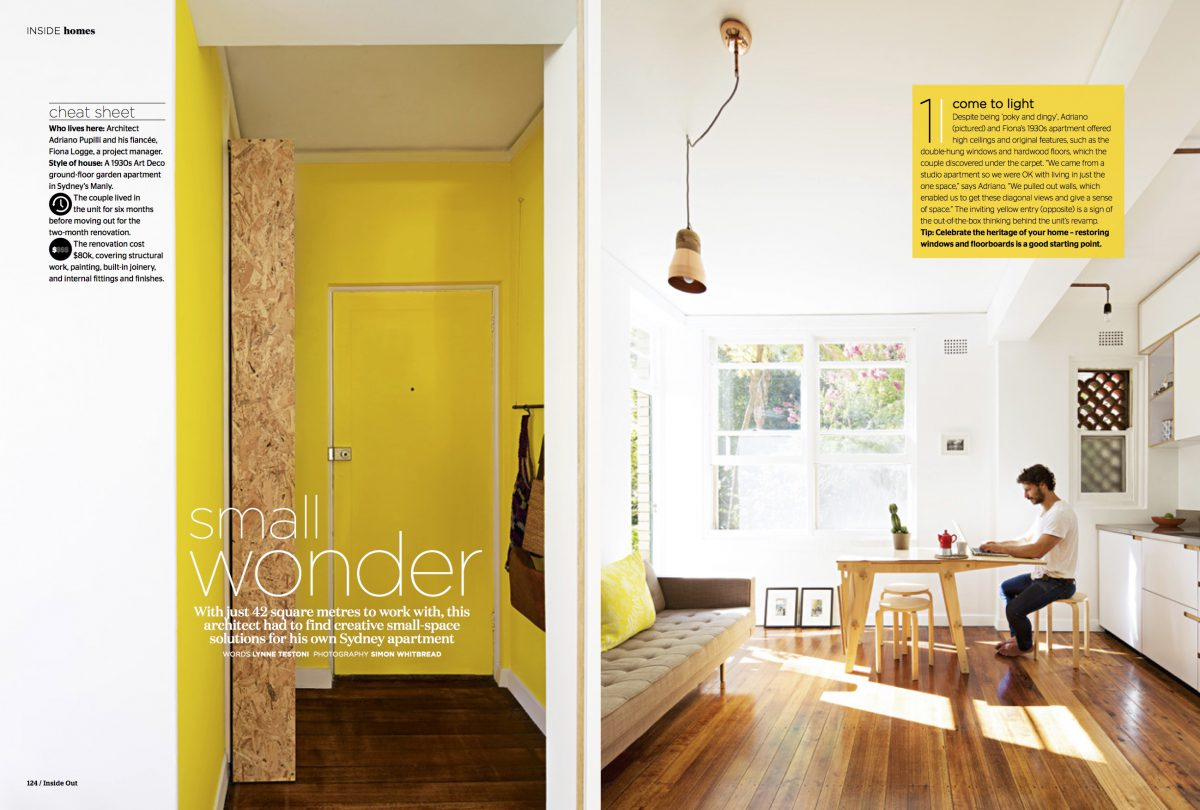 """The Hacienda"" featured in Inside Out Magazine"