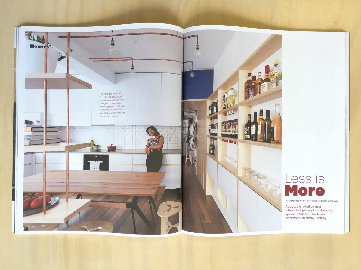 """Portal House Manly"" featured in Green Magazine Issue 55"