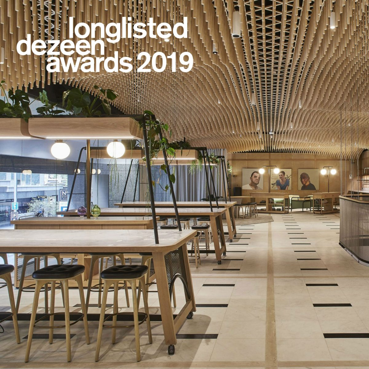 """The Portico"" Longlisted for Dezeen Awards 2019"