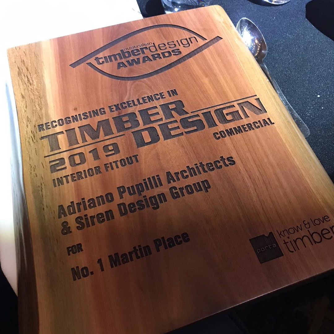 APA Win at Australian Timber Design Awards 2019