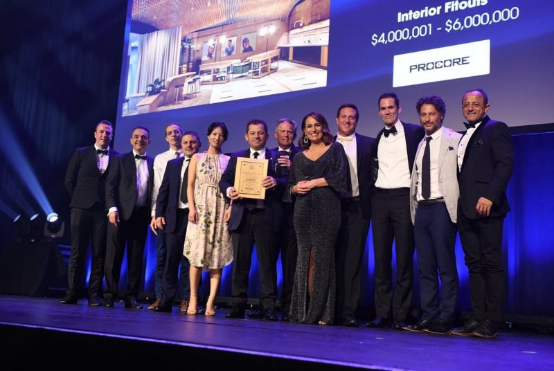 The Portico wins at the Master Builder Awards 2019